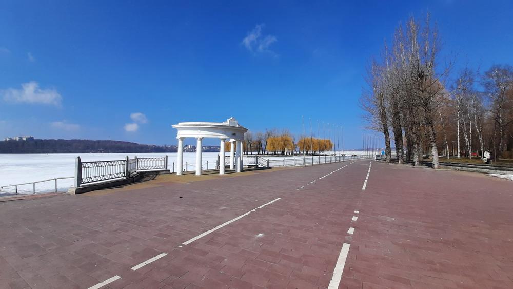 Тернопільське озеро, набережна Тернопільського озера