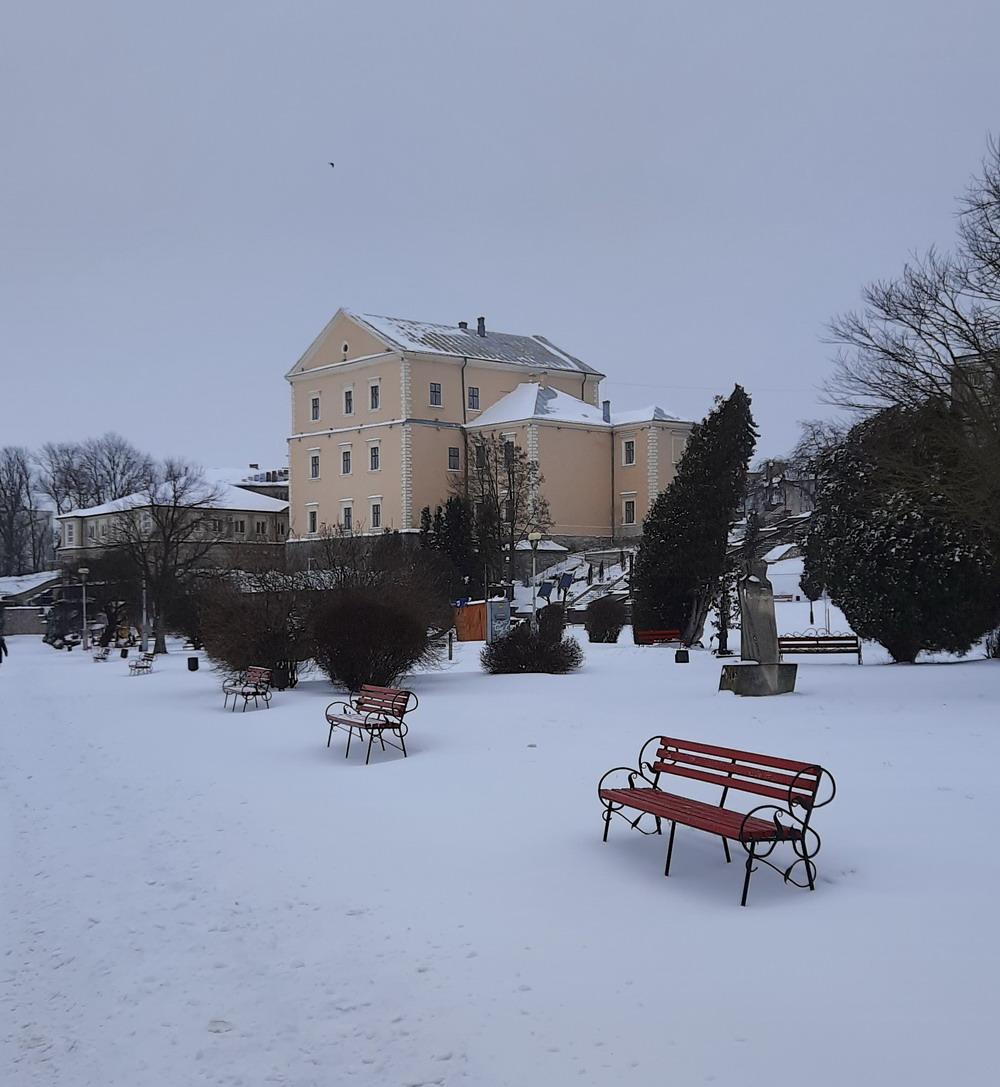 Тернопільський замок, Зимовий Тернопіль