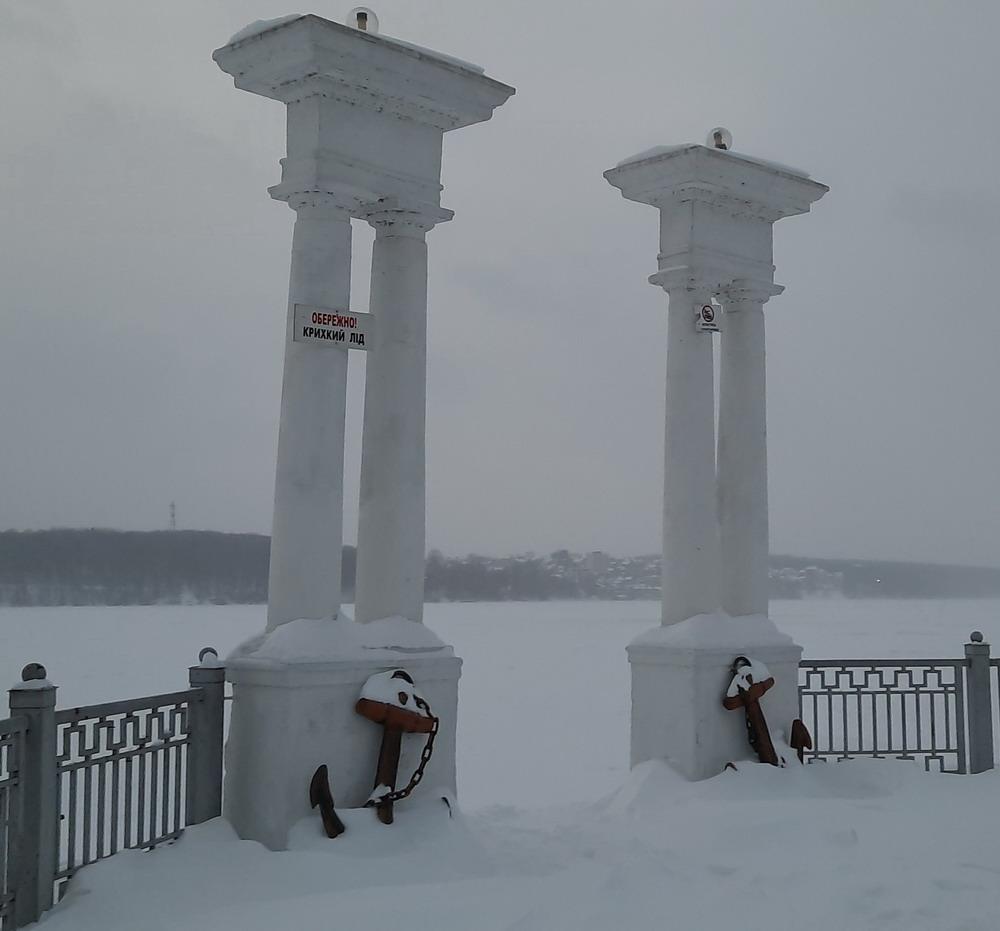 Зимовий Тернопіль, сніжний Тернопіль